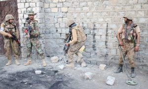Soldier martyred, 'terrorist' killed in South Waziristan operation