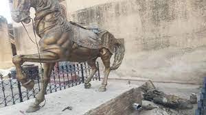 Man arrested for vandalizing Mahraja Ranjit Singh statue