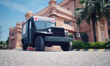 'Safri Shafakhana': KP Govt salvages 1943 Dodge vehicle