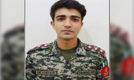 Pakistan army captain martyred in operation against TTP