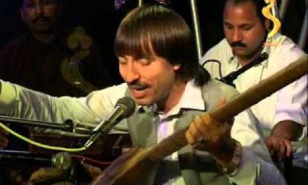 Pashto folk singer Kyfayat Shah Bacha