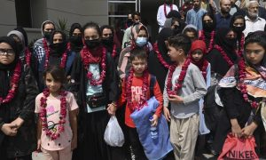Afghan junior female football team seeks asylum in UK