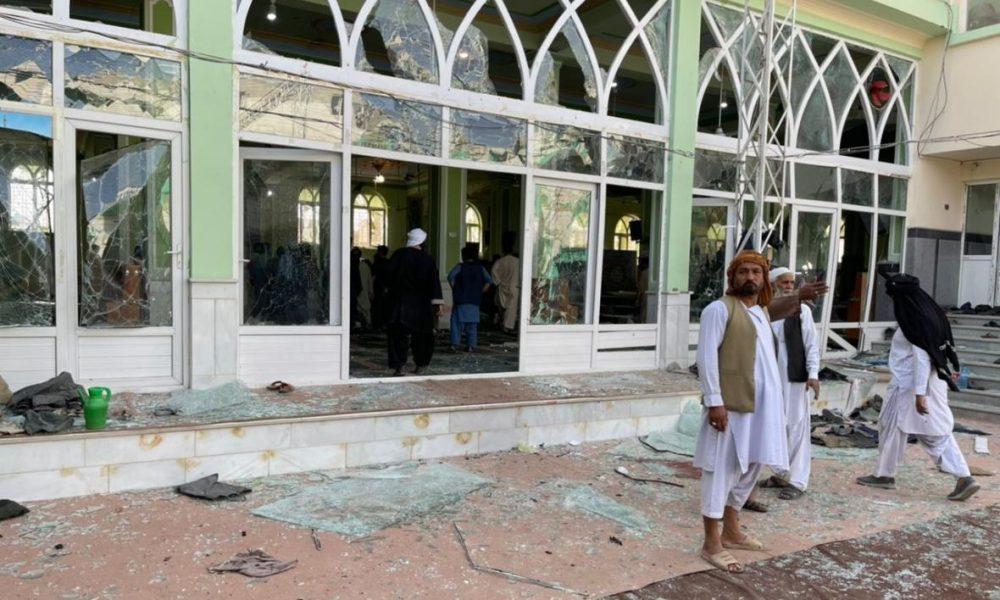ISIS-K claims responsibility Kandahar mosque attack