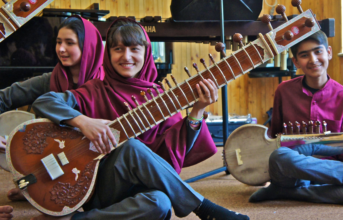 Afghan national music institute falls silent as last members leave for Portugal