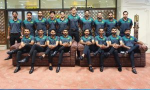 T20 World Cup: Pakistan squad leaves for UAE: Pakistan squad leaves for UAE