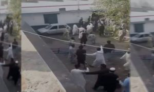 Angry residents attack Urmar police station