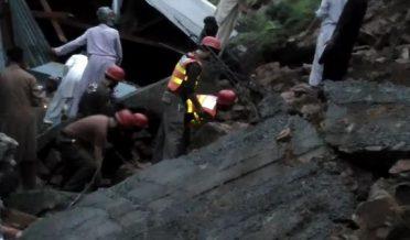 landslide in Abbottabad