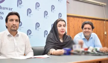 ANP Khyber Pakhtunkhwa spokesman samar haroon bilour
