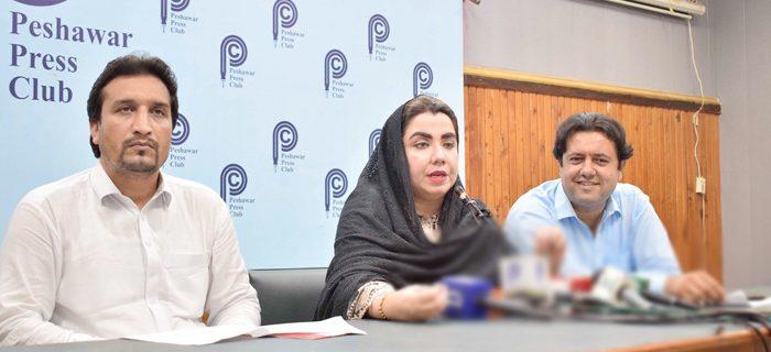 ANP spokesman samar haroon bilour press conference 1