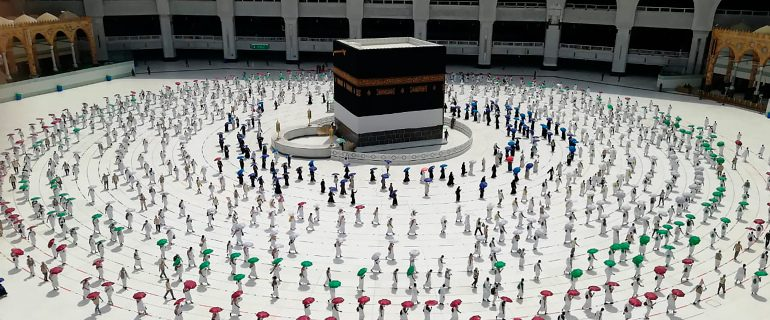 Hajj rituals have started with the arrival of pilgrims in Mina