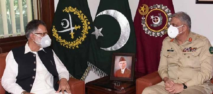 Azad Kashmir PM calls on Army Chief