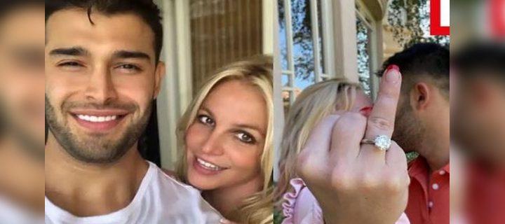 Britney Spears got engaged