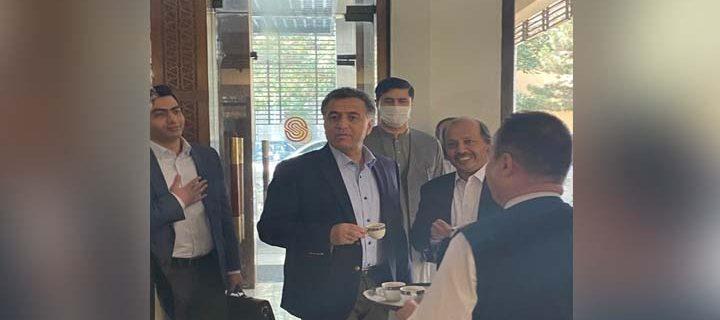 DG ISI Lieutenant General Faiz Hameed reached Kabul
