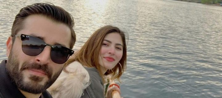 Hamza Ali Abbasi and Naimal Khawar Khan are two years into their marriage