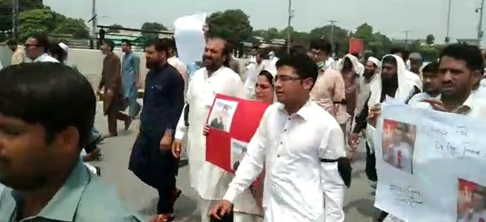 PDA Workers protest 1