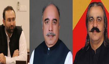 Hisham Inamullah revelations against Ali Amin Gandapur and Governor Shah Farman came to light