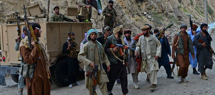 The Taliban and the Resistance Force