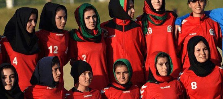 Afghan women's football team arrives in Pakistan