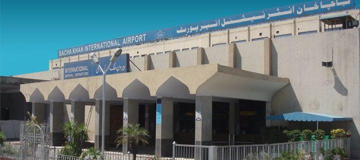bacha khan airport peshawer