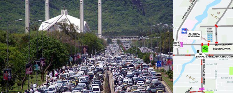 banner islamabad traffic plan