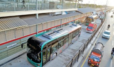 BRT service was restored