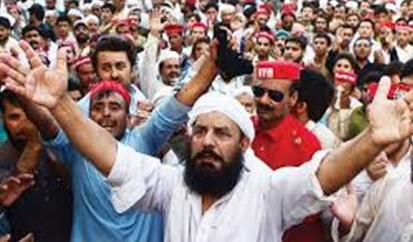 Buner: ANP workers protest against their party leaders