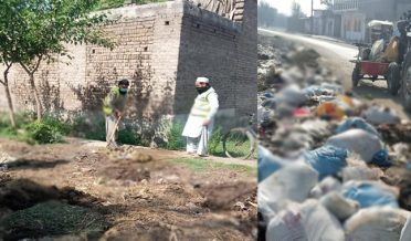 eid ul adha 2021cleanliness operation at takhtbai