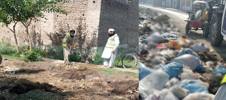 cleanliness operation at takhtbai