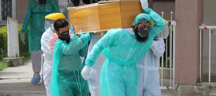 Corona kills 16 more patients in kp
