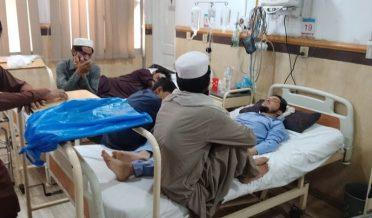 Corona cases in kpk hospitals