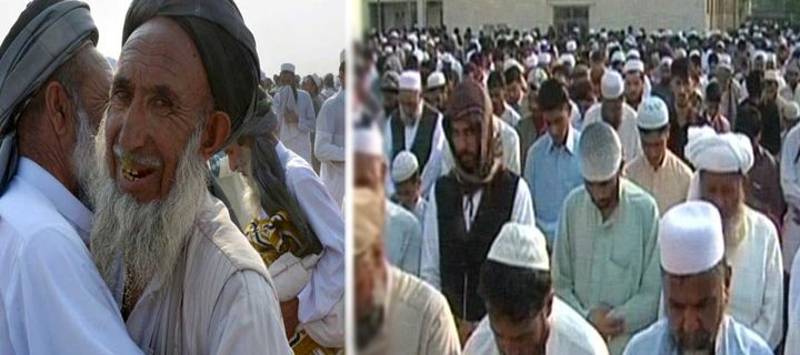 Afghan refugees celebrate Eid al-Adha today