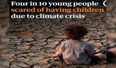 گلوبل وارمنگ،دنیا کے40فیصد نوجوان