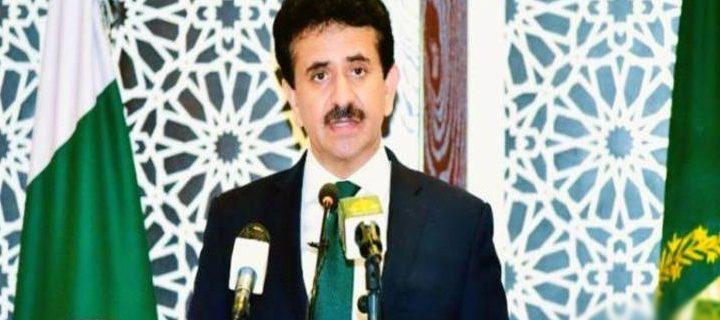 Zahid Hafeez Chaudhri Foreign Office spokesperson
