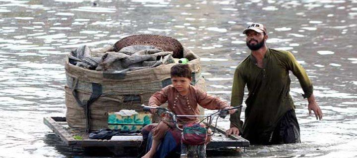 heavy rain in peshawer