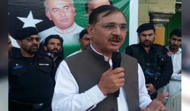 PPP Khyber Pakhtunkhwa President Humayun Khan congratulates PPP Azad Kashmir successful party candidates
