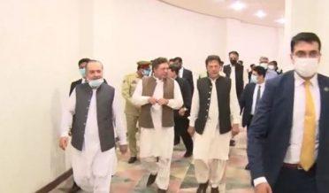 imran khan visits F9 park