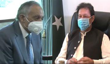 Abdul Razzaq Dawood, Advisor on Trade and Investment, called on Prime Minister Imran Khan