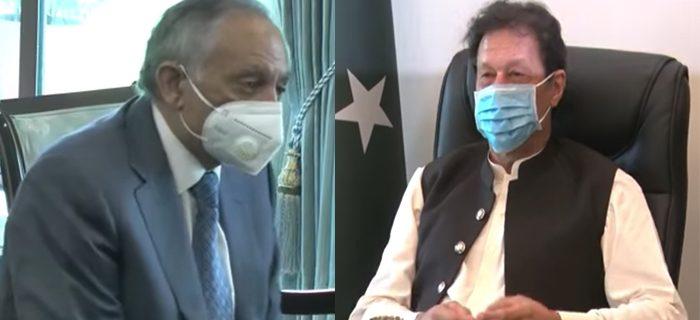 imran khan meet abdur razzaq dawood