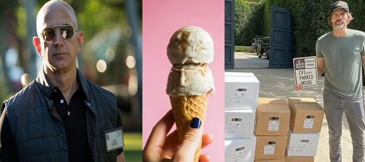 Jeff Bezos buys an ice cream machine