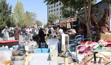 Kabul government officials forced to drive taxis