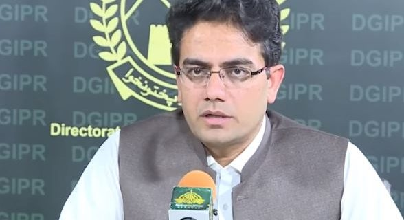 Assistant to the Chief Minister for Information Kamran Bangash