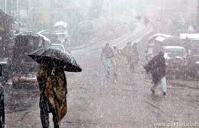 Strong winds and rain forecast in most districts of Khyber Pakhtunkhwa