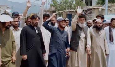 Protest against WAPDA in Orakzai