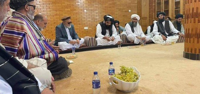طالبان درمیان مذاکرات جزوی