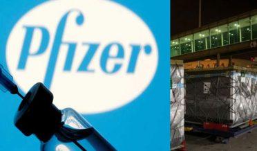 Pakistan receives batch of Pfizer