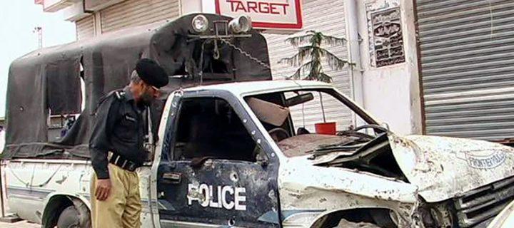 police van blast