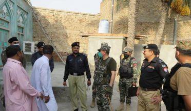 Tank_ Sector Commander FC South visits Imambargahs
