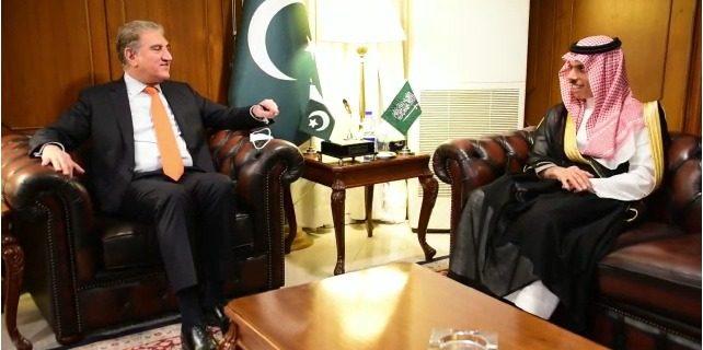 shah mahmood qurashi meeting with Forgin minister of soudi