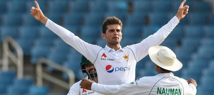Shaheen Shah Afridi's excellent performance in the Jamaica Test