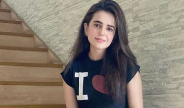 Actress Sanbal Iqbal suffers from corona virus